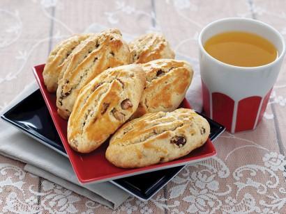 Üzümlü ve cevizli çay kurabiyesi tarifi