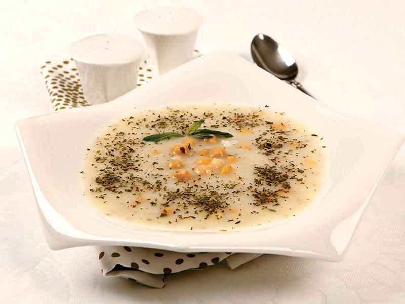 Nohutlu yayla çorbası tarifi