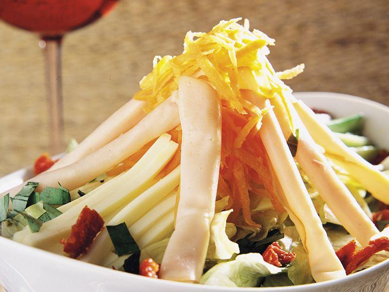 Hindi jambonlu salata tarifi